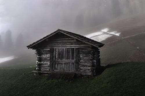Photo of Cabin on Grass Field
