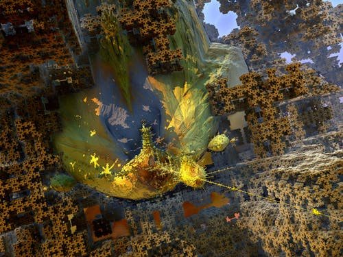 Free stock photo of 3D HD Abstract Fractal, abstract expressionism, alien