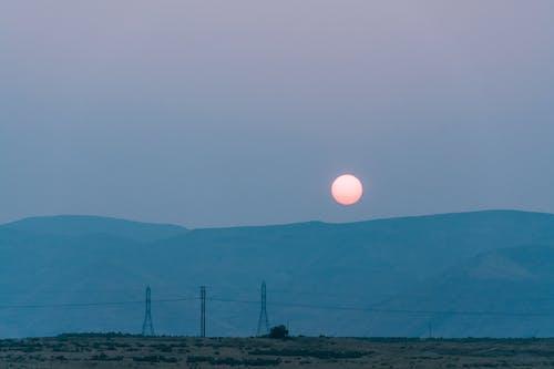 傳輸線, 光, 戶外, 日出 的 免費圖庫相片