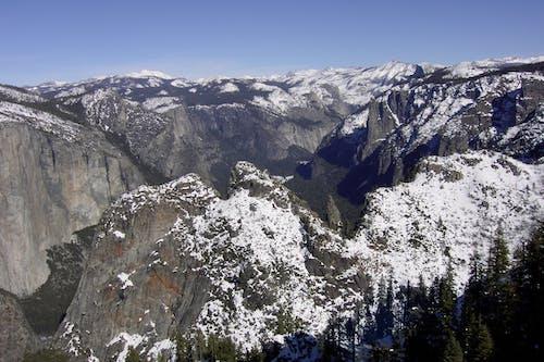 Kostenloses Stock Foto zu berge, schnee, yosemite