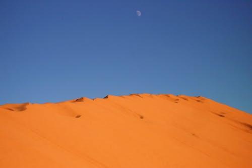 Kostenloses Stock Foto zu mond, sand, sanddüne