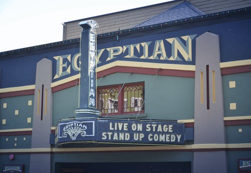 Free stock photo of comedy, egyptian, Egyptian Theatre, theatre