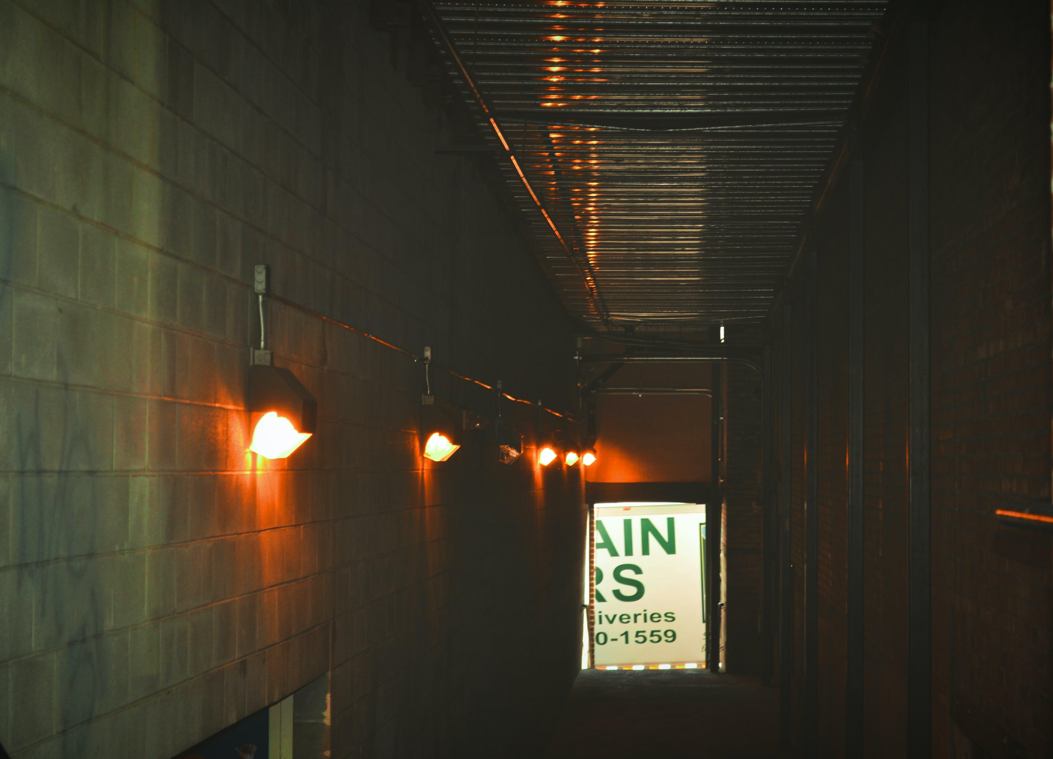 Kostenloses Stock Foto zu flur, fußweg, industriell