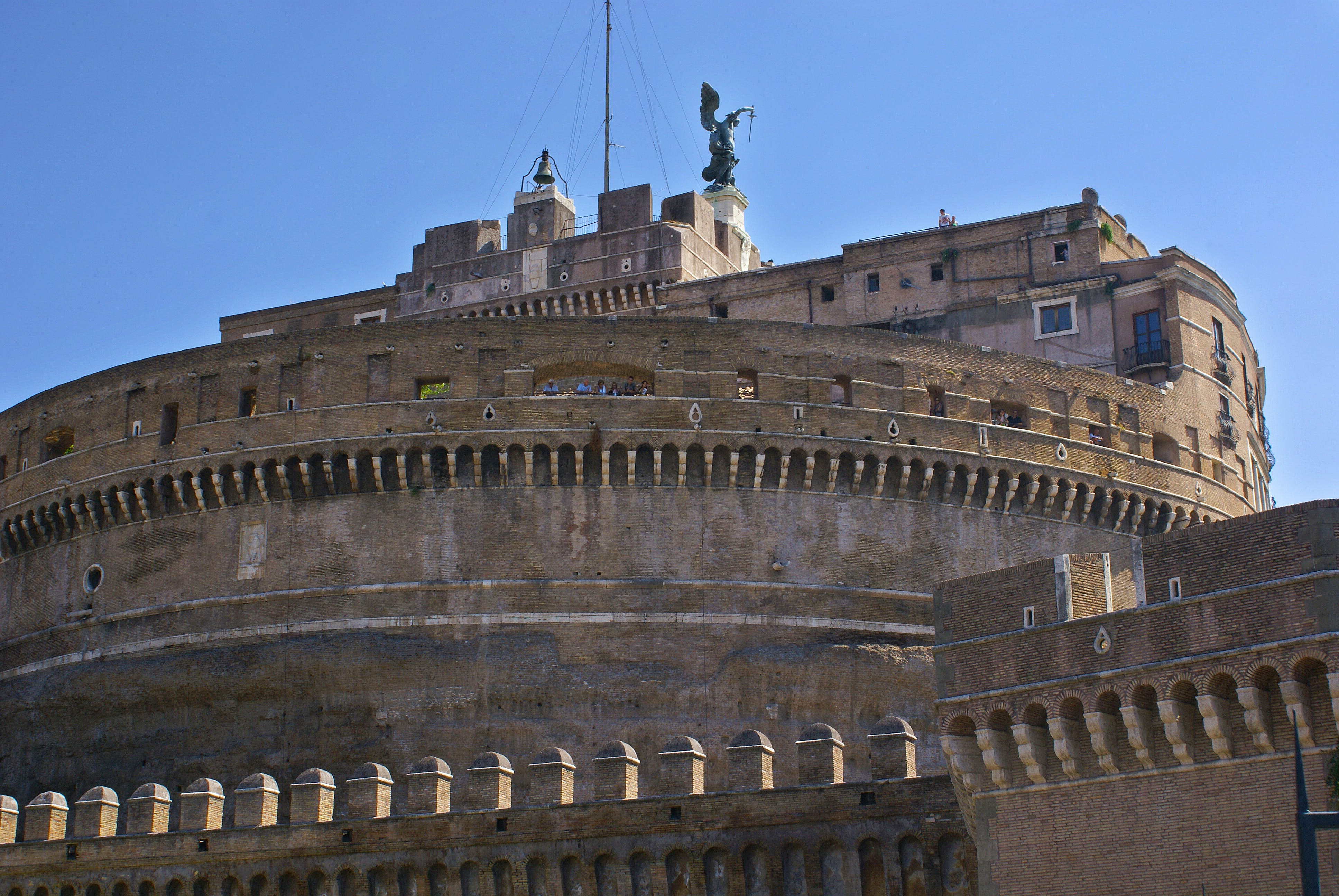 Free stock photo of angelo, architecture, castel sant'angelo, castle
