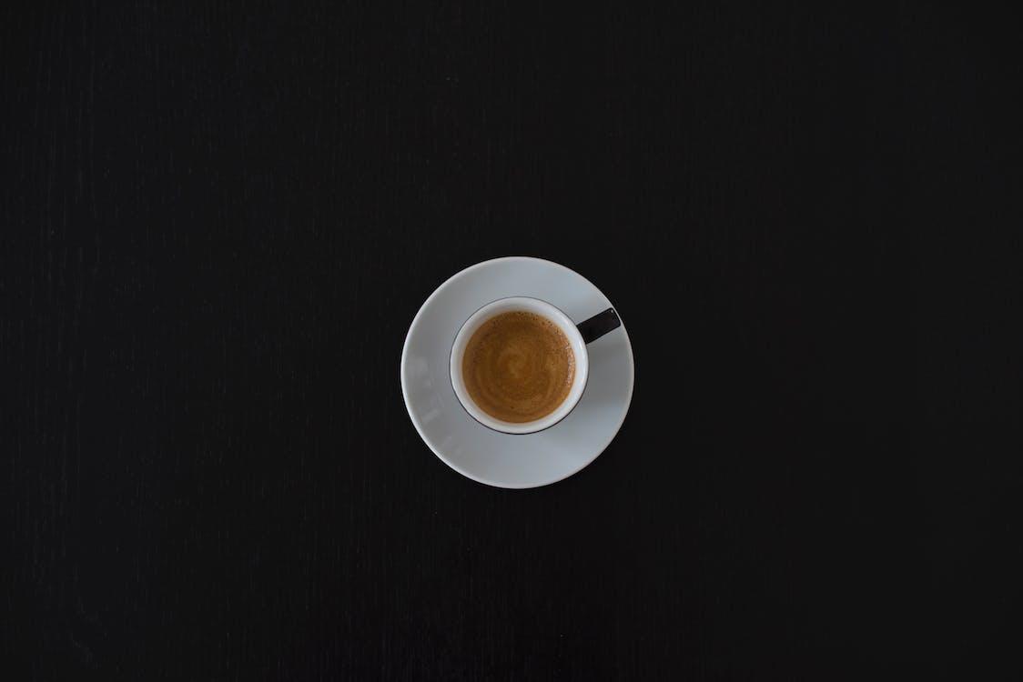 banco, bevanda, caffè