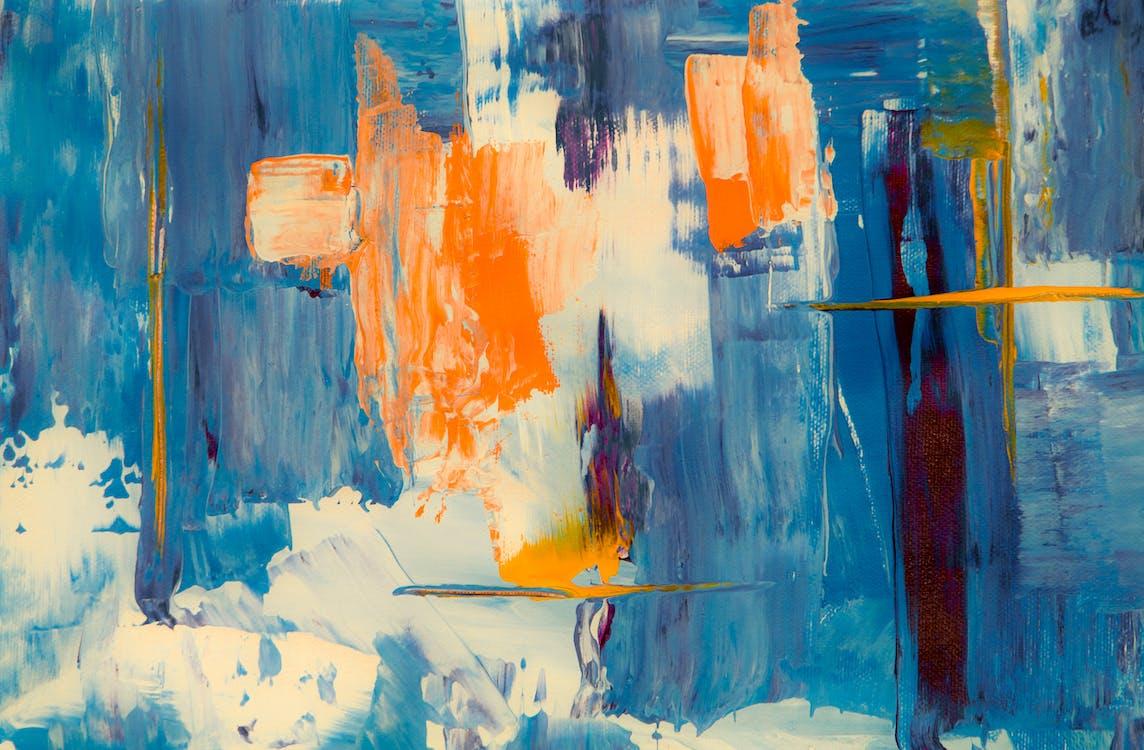 abstrak, acrylic, akrilik