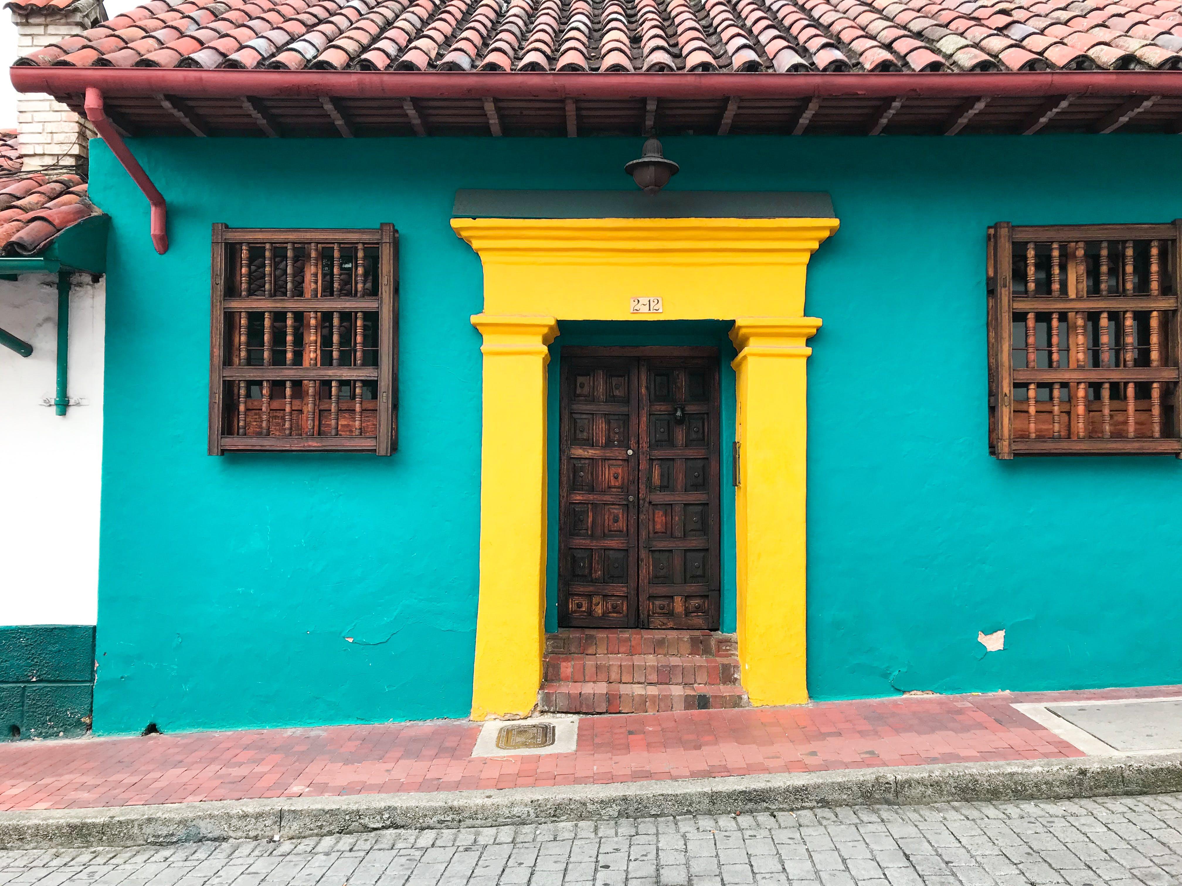 Gratis lagerfoto af bogota, colombia, døre, fachada