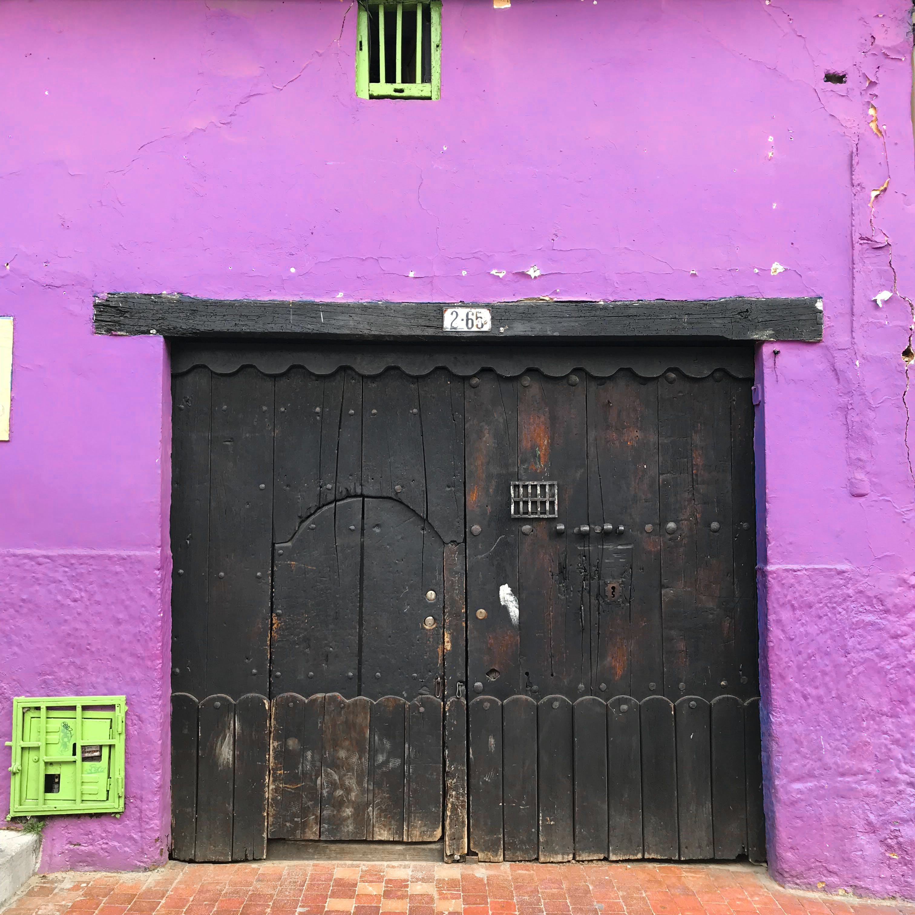 Free stock photo of colombia, Colombian, color, door