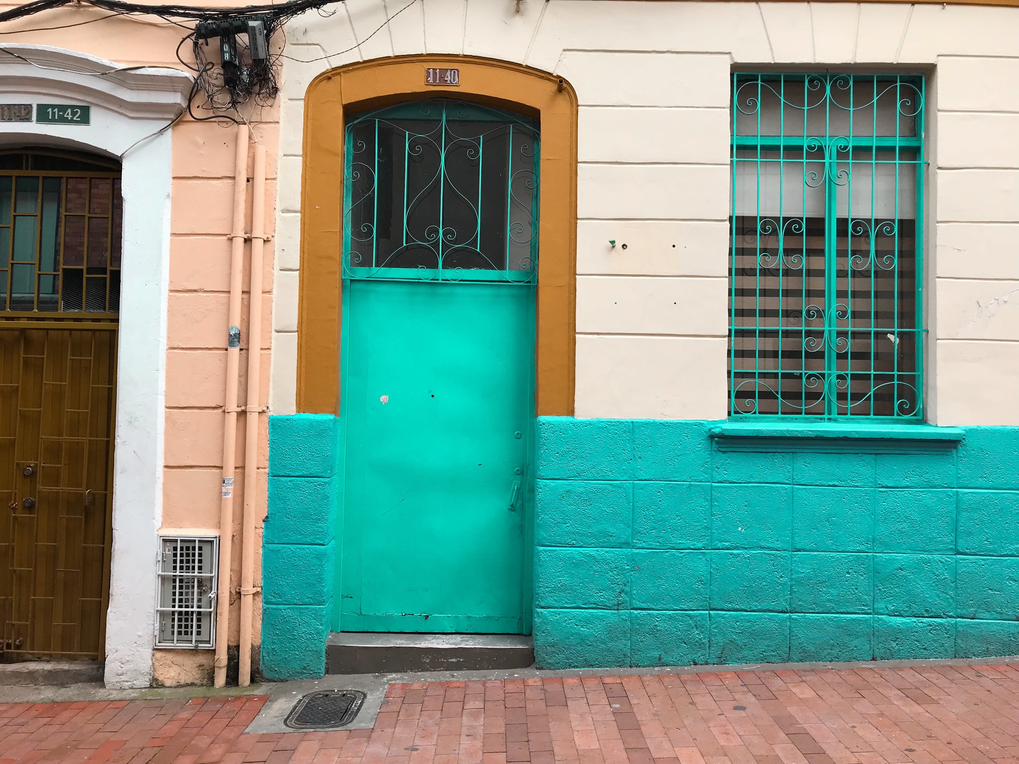 Free stock photo of Azul, calle, colonial, cool