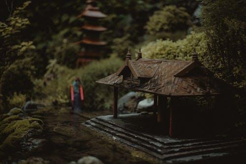 Безкоштовне стокове фото на тему «мініатюрний, старомодний, храм, японська культура»