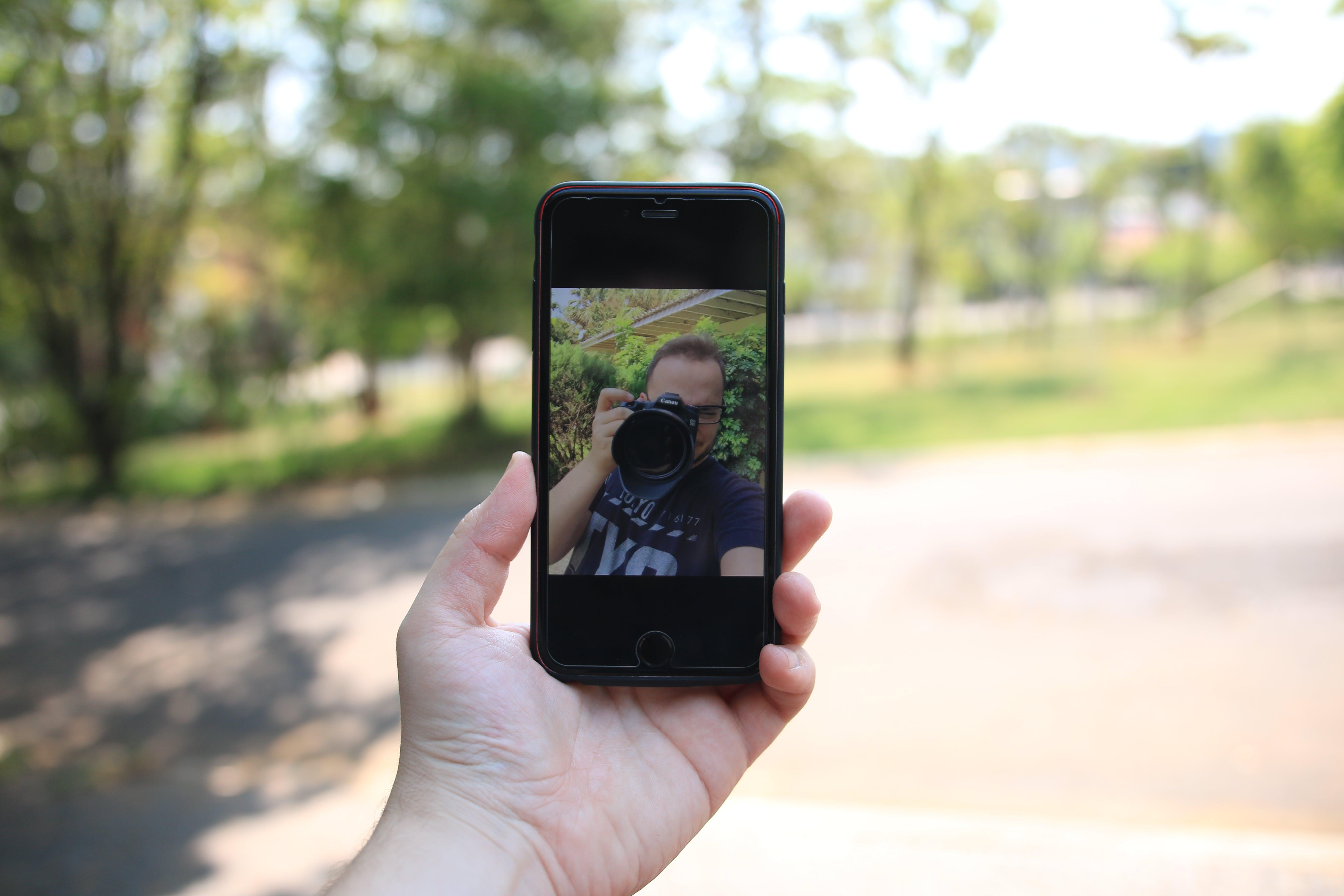 Free stock photo of picture, phone, selfie, celphone