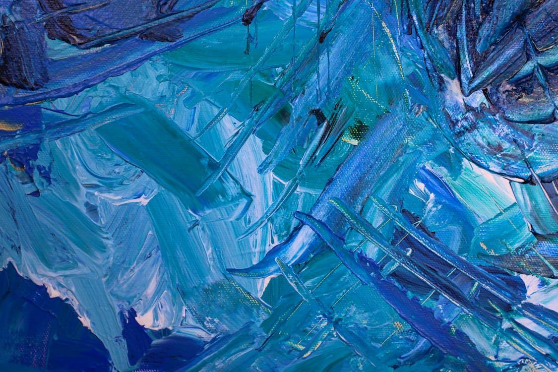 abstraktní expresionismus, abstraktní obraz, abstraktní pozadí