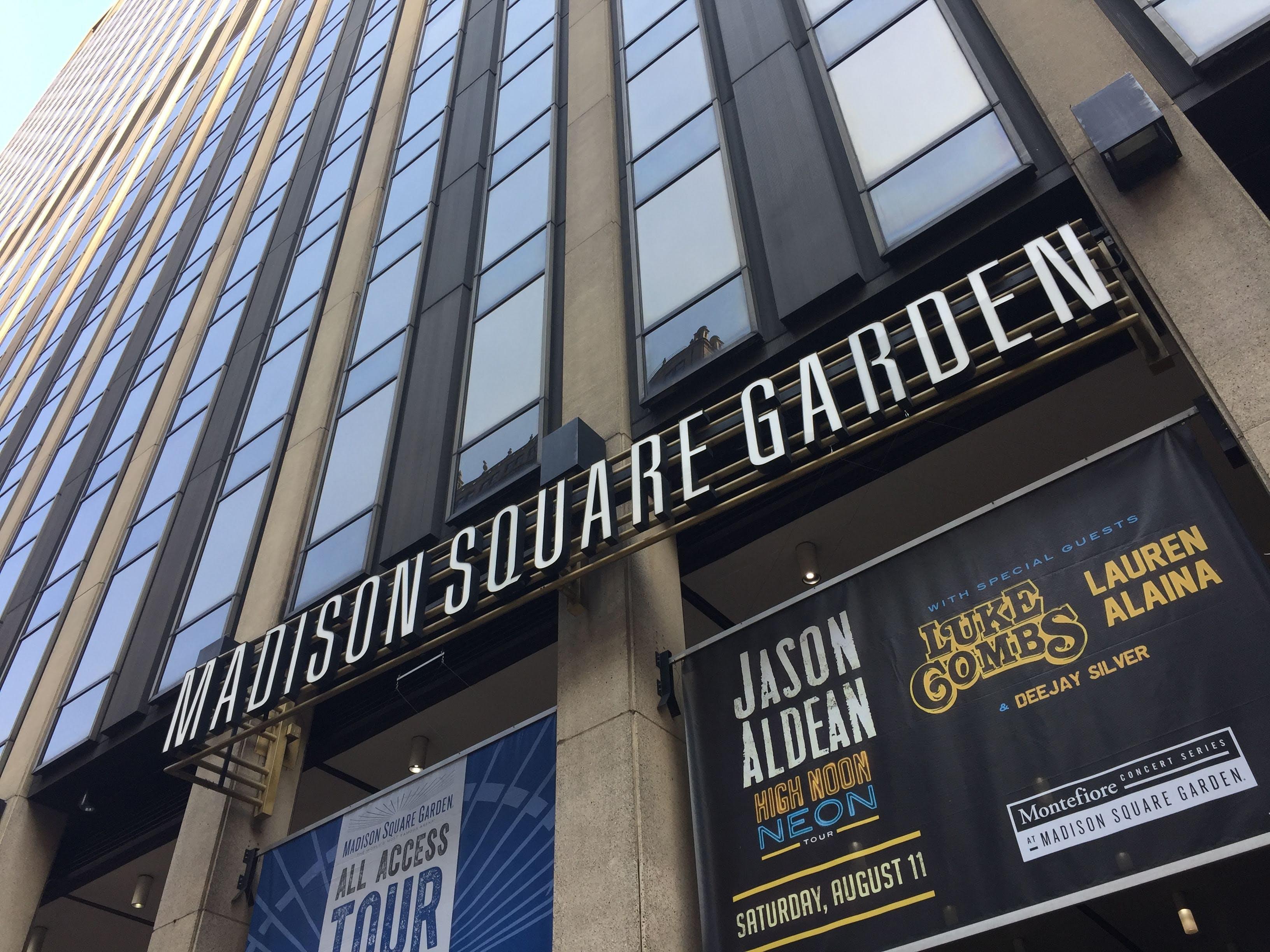 Free stock photo of Madison Square Garden