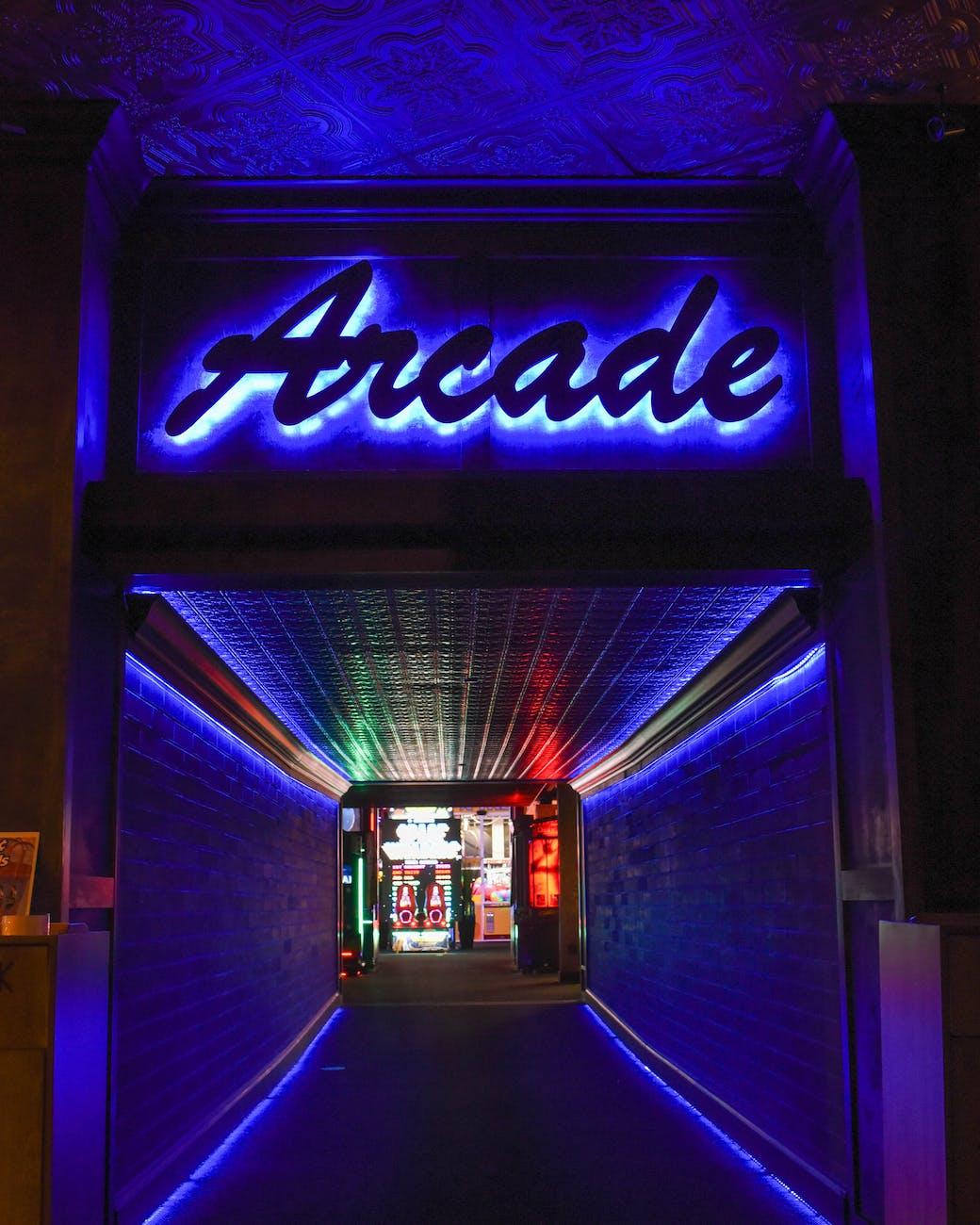 arcade games bar