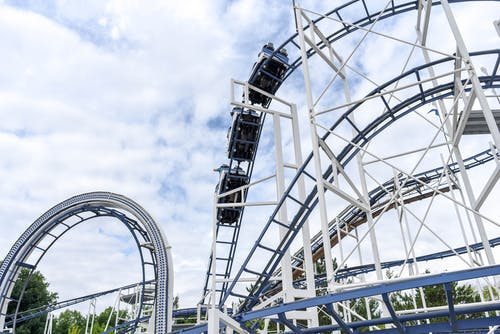 Photo of White Roller Coaster
