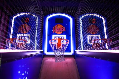 Fotobanka sbezplatnými fotkami na tému arkáda, basketbalový kôš, dizajn, doskové hry