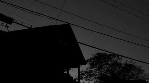 Kostnadsfri bild av b & w, elektrisk ström, försyn, generator