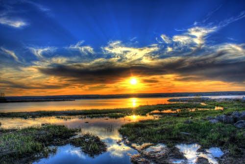 Δωρεάν στοκ φωτογραφιών με lake superior, δύση του ηλίου, μίτσιγκαν, ουρανοί