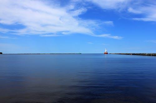 Δωρεάν στοκ φωτογραφιών με λιμάνι, μπλε, νερό, ουρανός