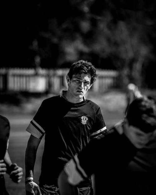 制服, 團隊, 橄欖球, 田 的 免费素材照片