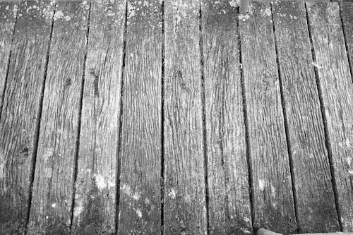 Fotos de stock gratuitas de blanco y negro, tablones de madera