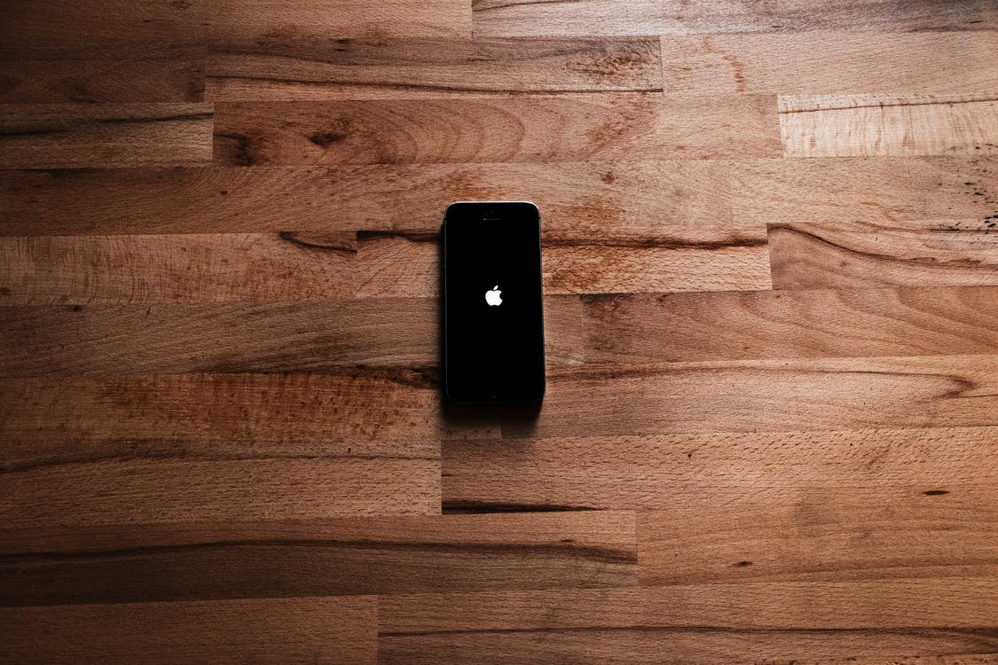 apple, brun, elektronisk