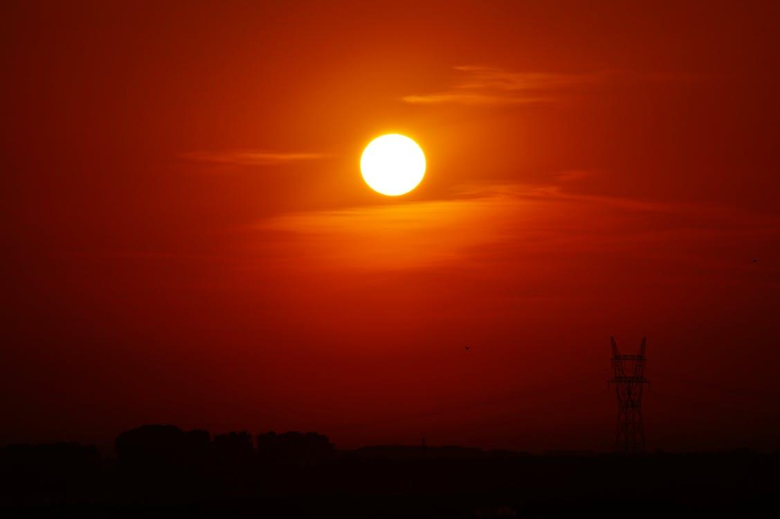 ดวงอาทิตย์, ตอนเย็น, ตะวันลับฟ้า