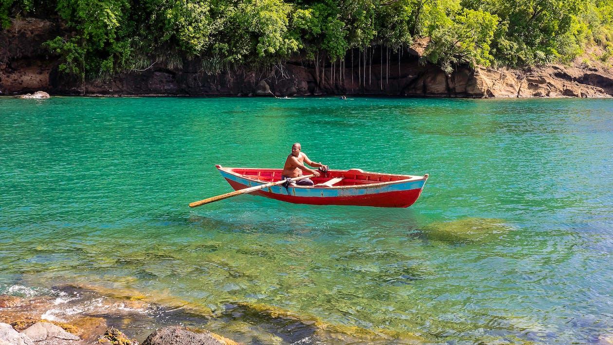 fishing boat, rowing boat