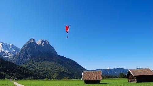 バイエルン, パラグライダー, 山岳, 納屋の無料の写真素材