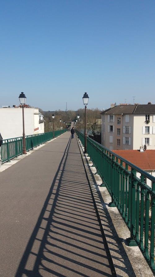 Free stock photo of Passerelle de L'Avre