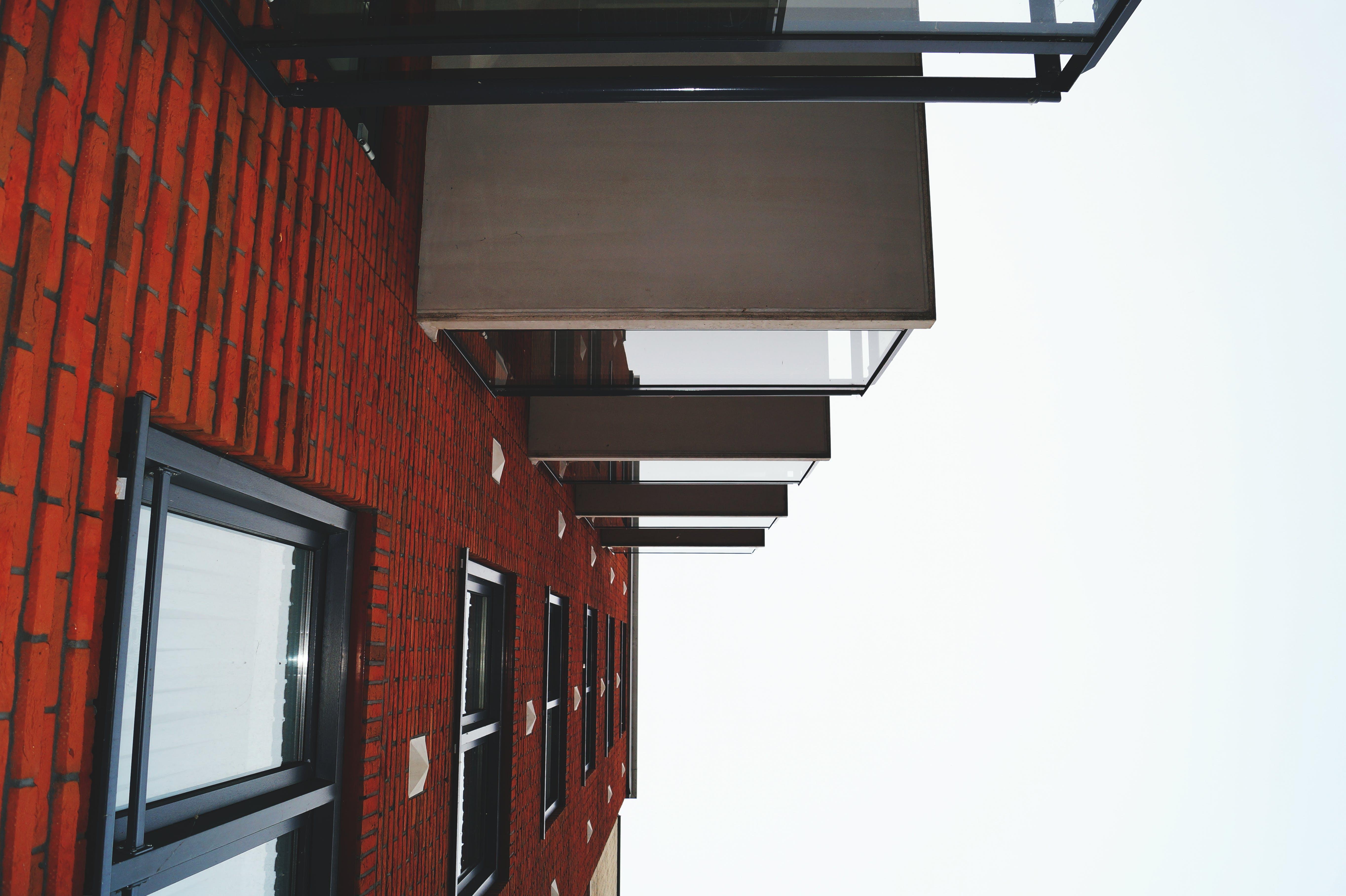 Free stock photo of building, bricks, glass, architecture