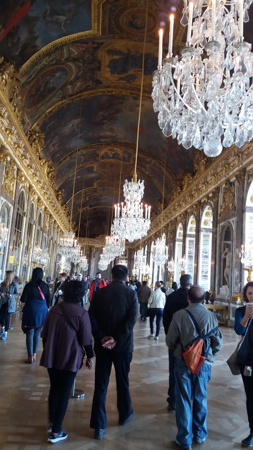 Free stock photo of Galerie des Glaces, Versailles