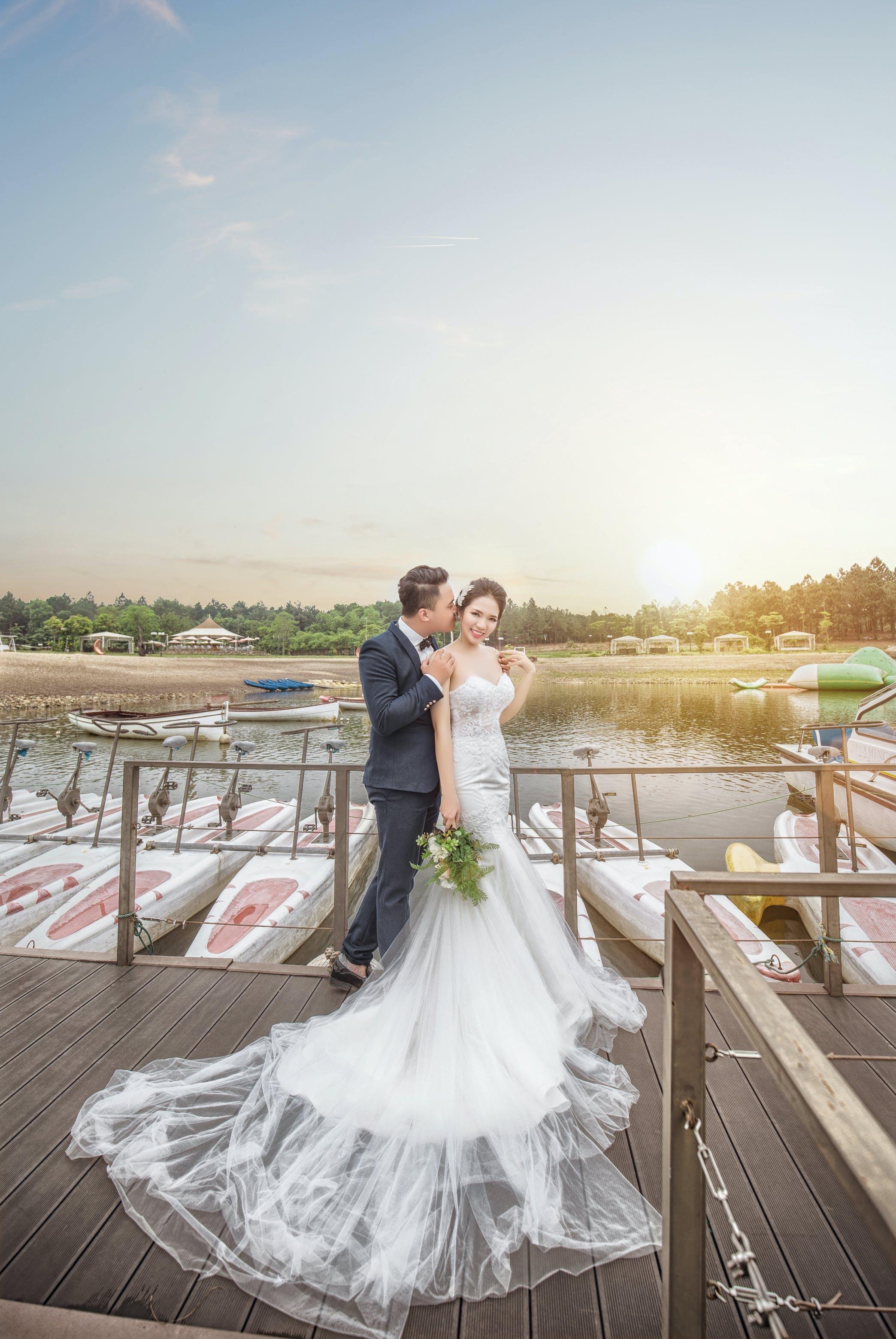 Free stock photo of bride, Bride and Groom, groom, honeymoon