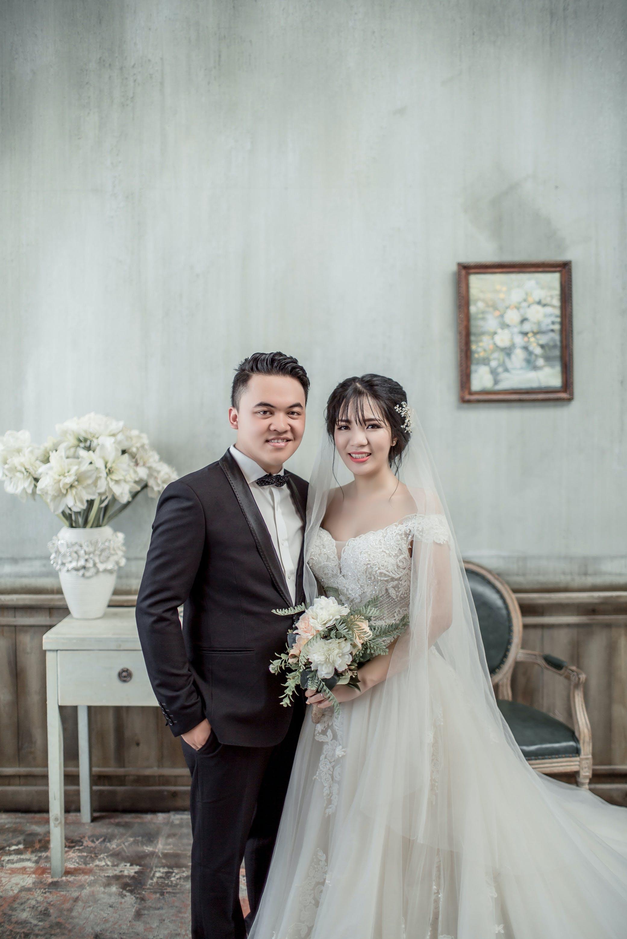 abiye elbise, adam, aşındırmak, Aşk içeren Ücretsiz stok fotoğraf