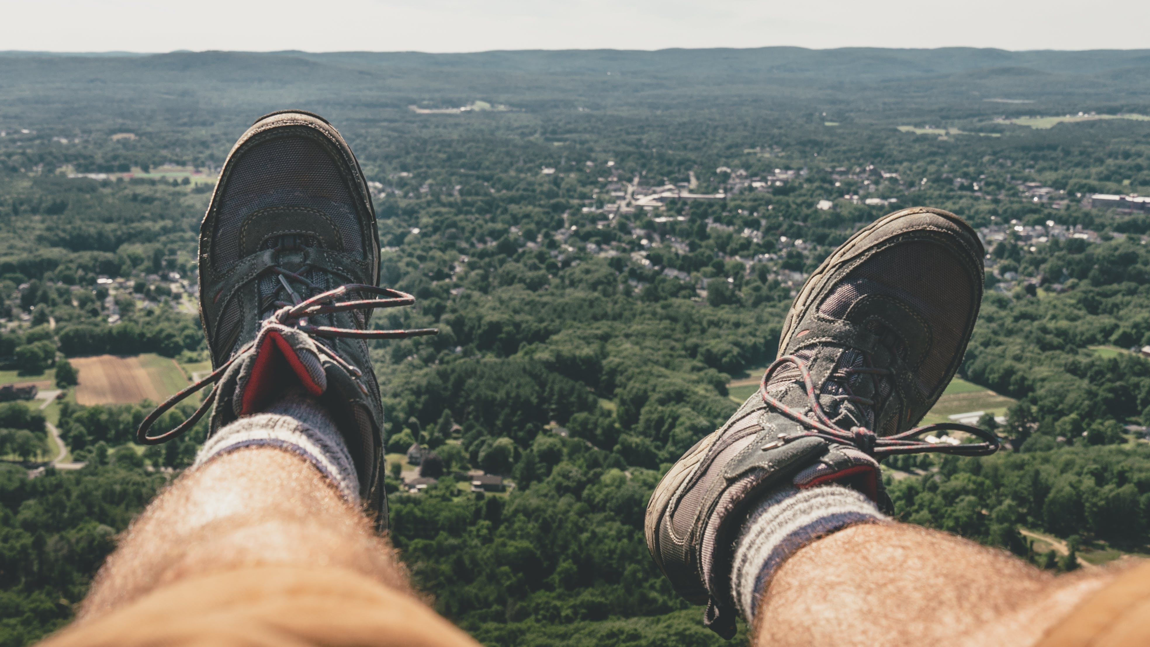 Free stock photo of beautiful, boots, cliff, earth