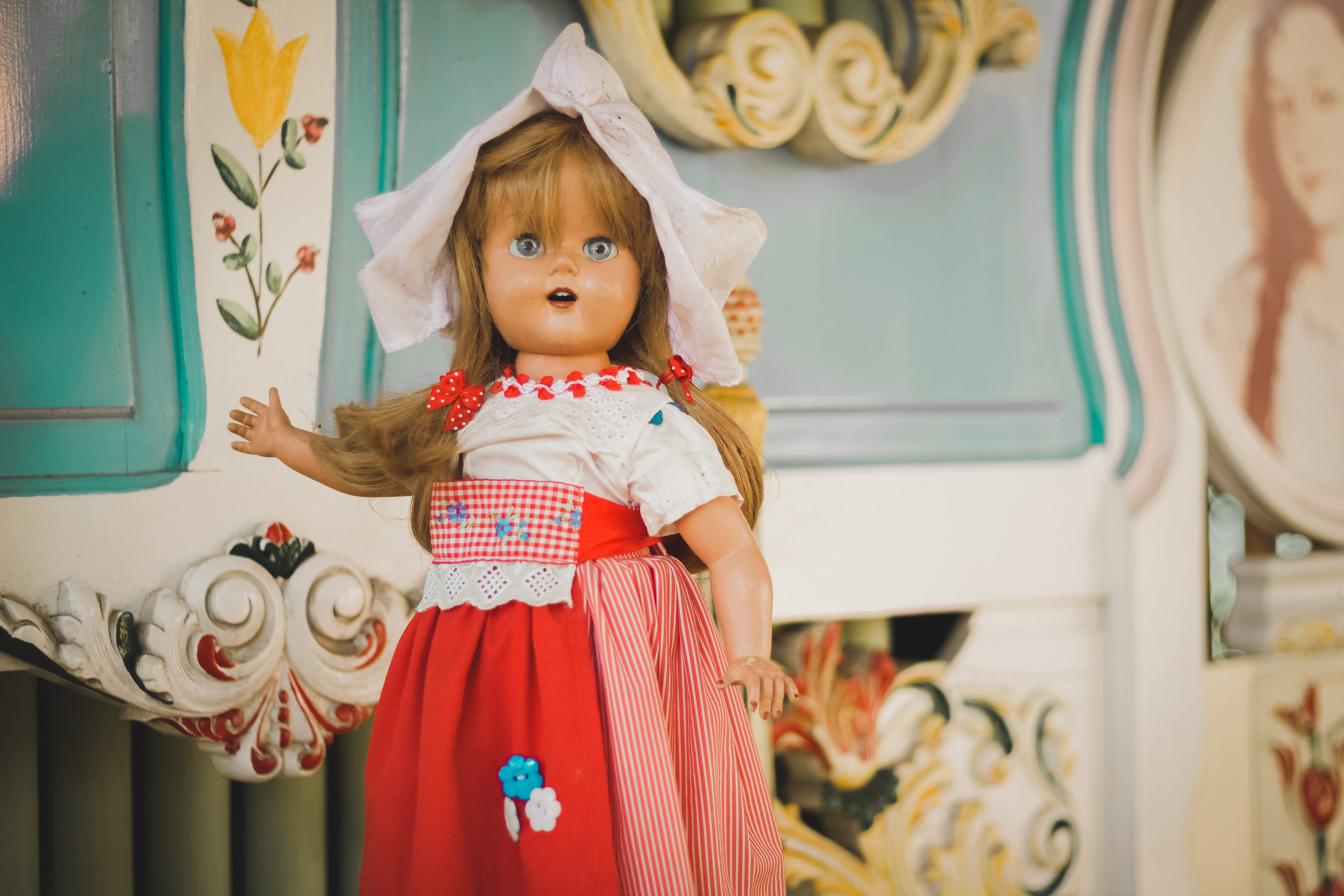 Free stock photo of doll