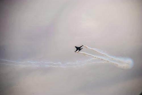 Kostenloses Stock Foto zu fliegen, flug, flugzeug, himmel