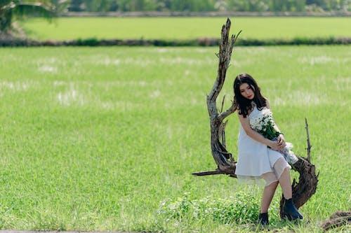 亞洲女人, 亞洲女孩, 夏天, 女人 的 免費圖庫相片