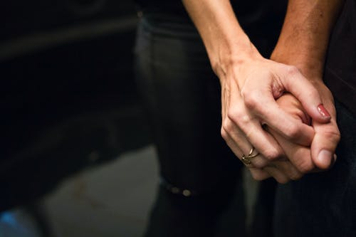 Free stock photo of couple, hands, holdinh hands, marriage