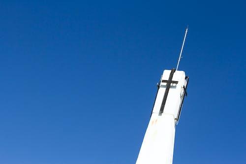 Gratis arkivbilde med blå, himmel, jesus, kirke