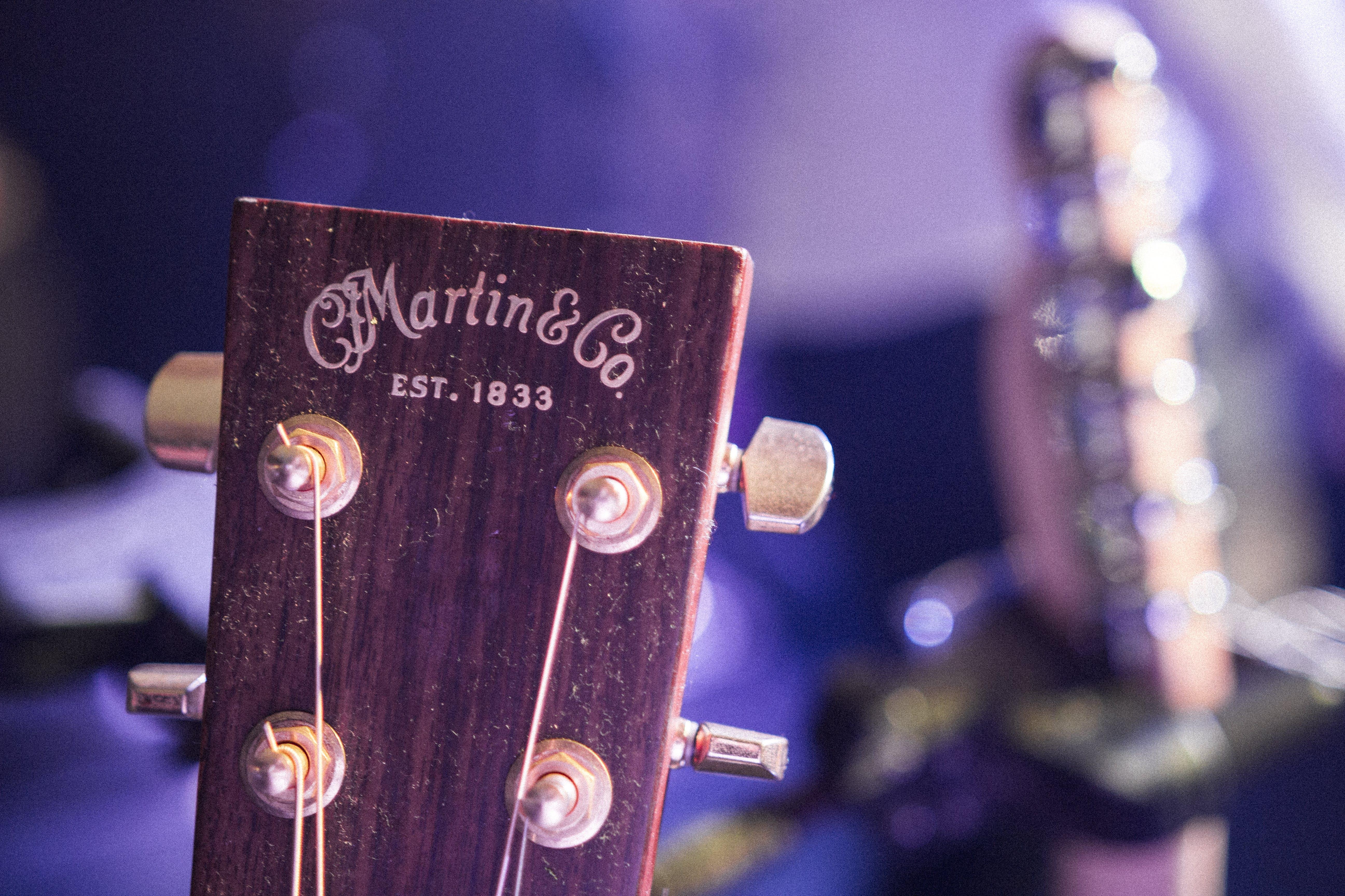 Free stock photo of acoustic guitar, guitar, Martin, music