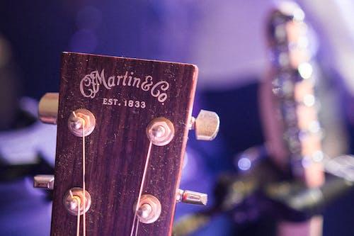 Free stock photo of guitar, Martin, music