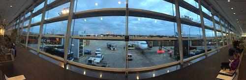 Free stock photo of airport, panoramic, panoramic view