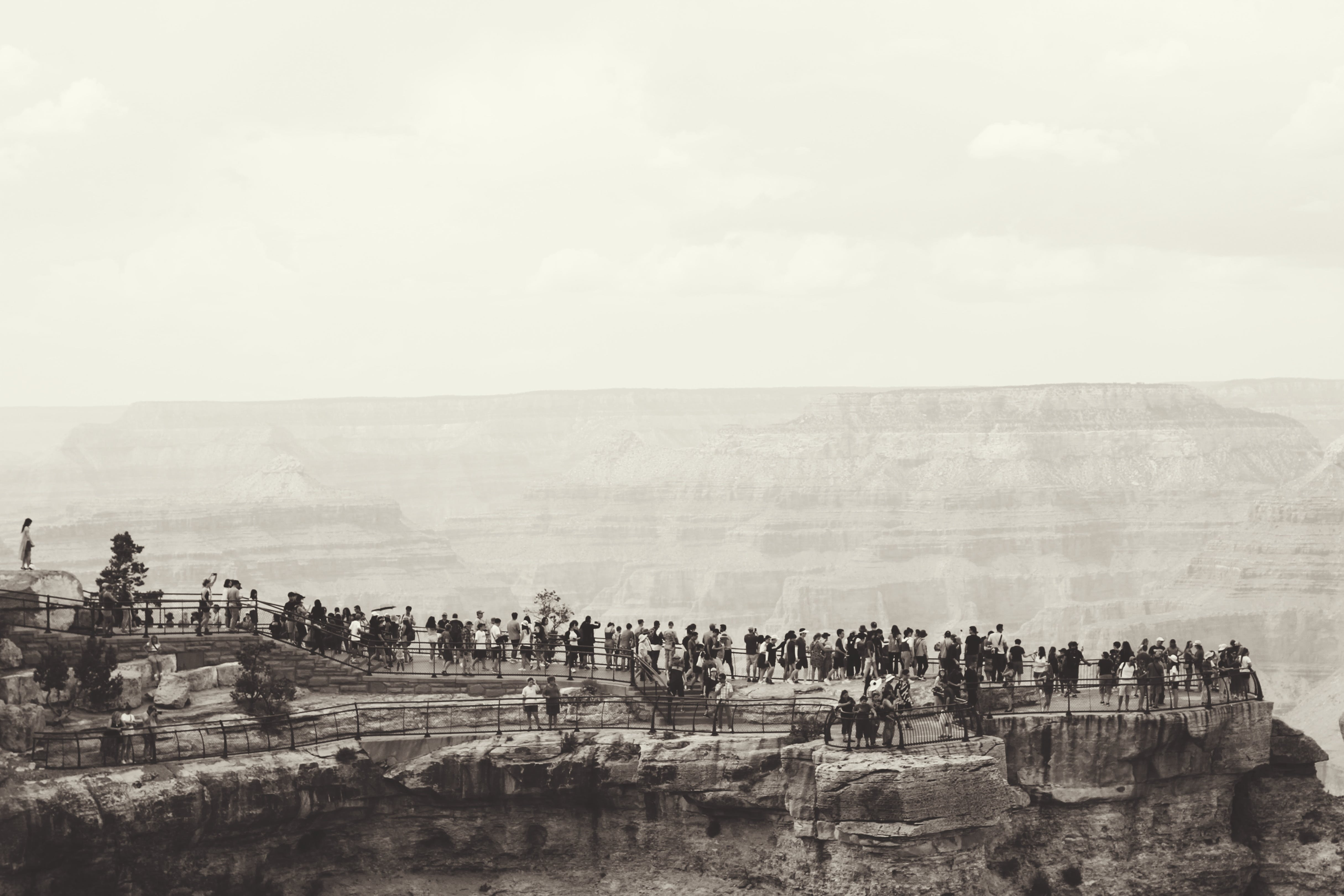 Free stock photo of grand canyon, landscape, nature, people