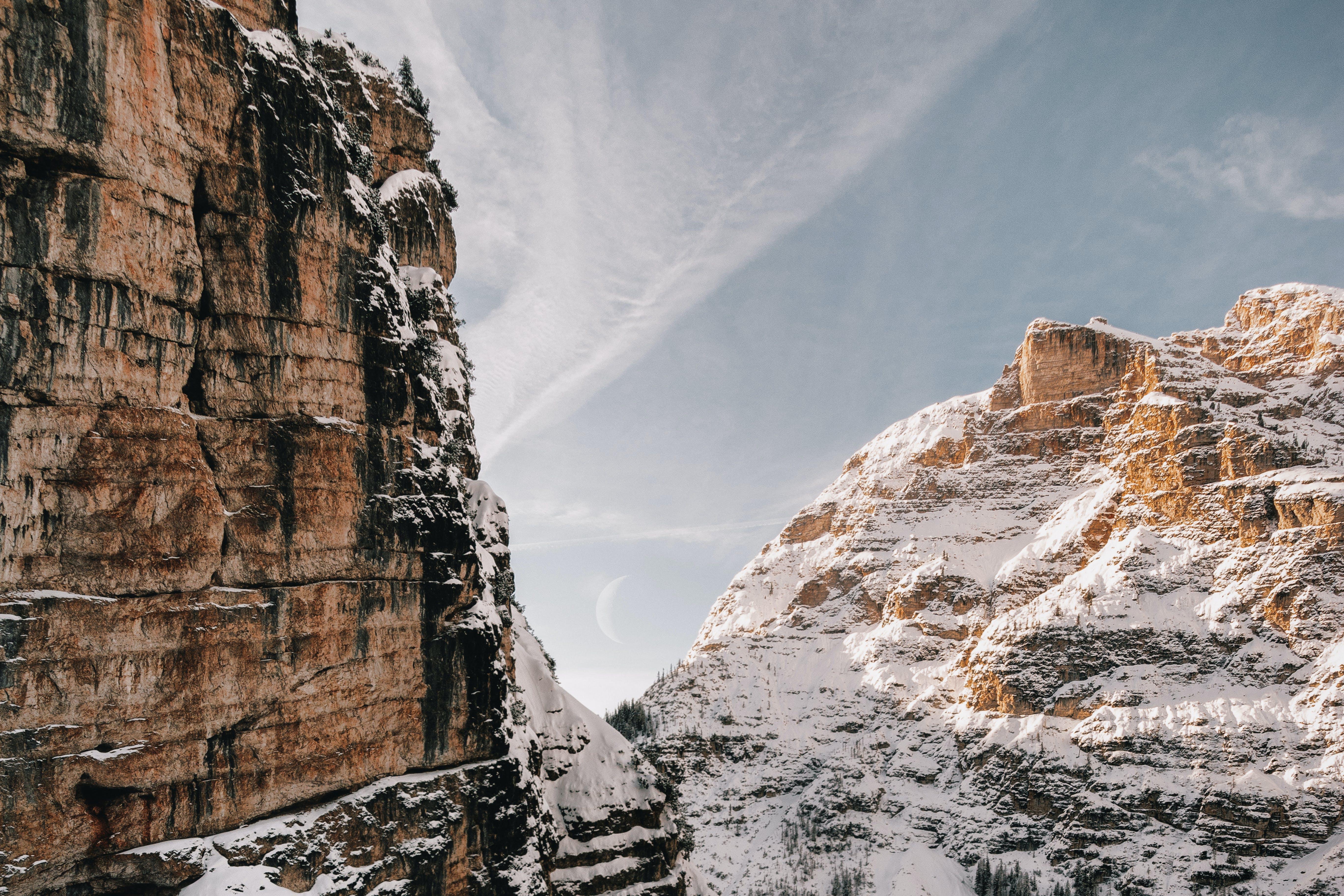 adventure, cliff, cold