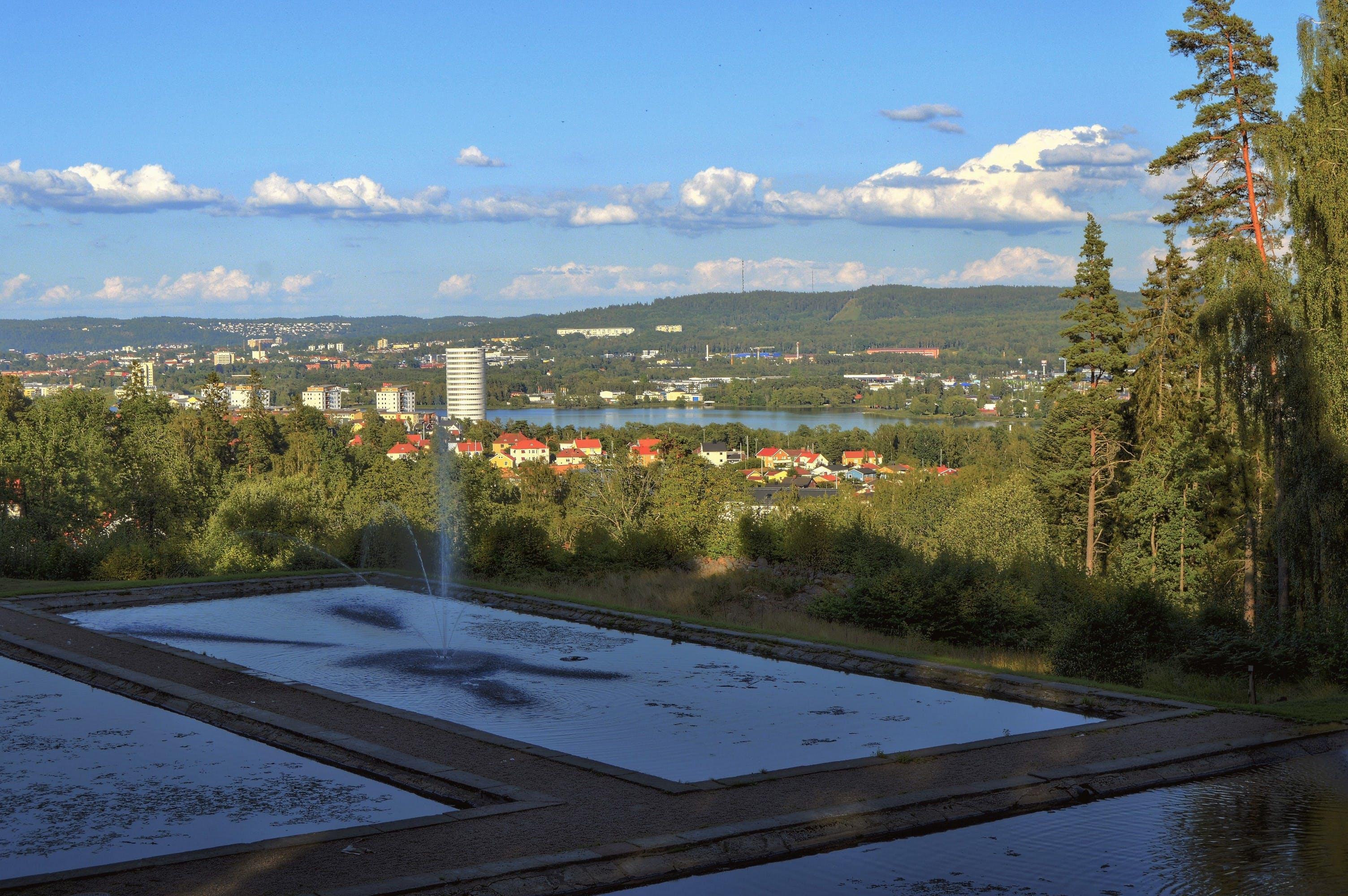 city, forest, jönköping