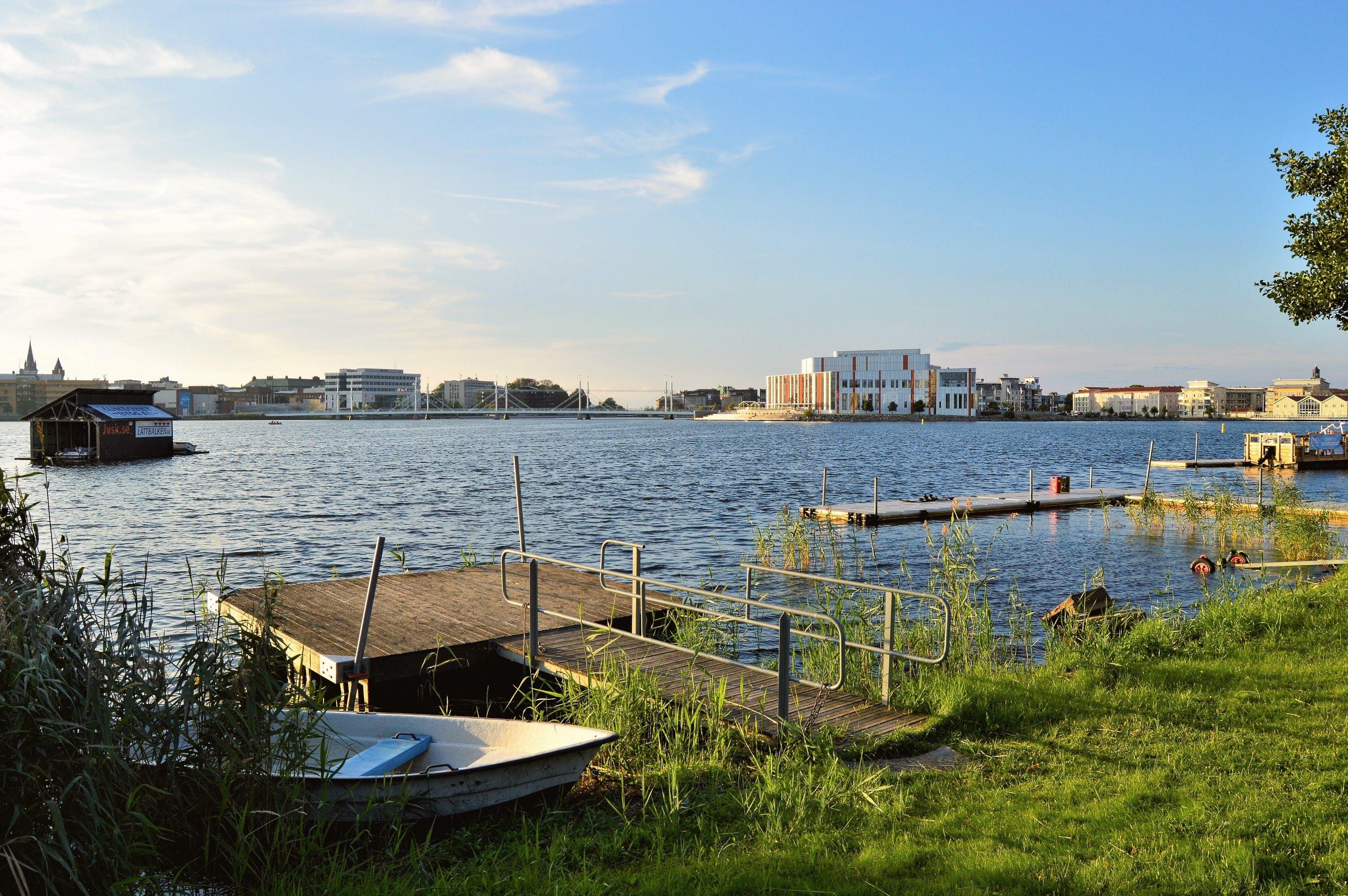 Ingyenes stockfotó híd, jã¶nkã¶ping, nyár, Svédország témában