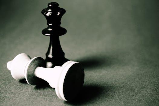 Black Queen Chess Piece