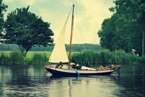 Free stock photo of amstel river, amsterdam, boat, Holland