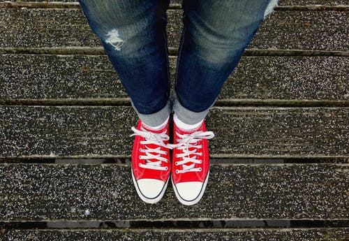 Free stock photo of cool, fashion, feet, female